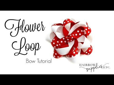 Bow How To: Spikey Stacked Bow Tutorial ft. Bowdabra Mini! - YouTube