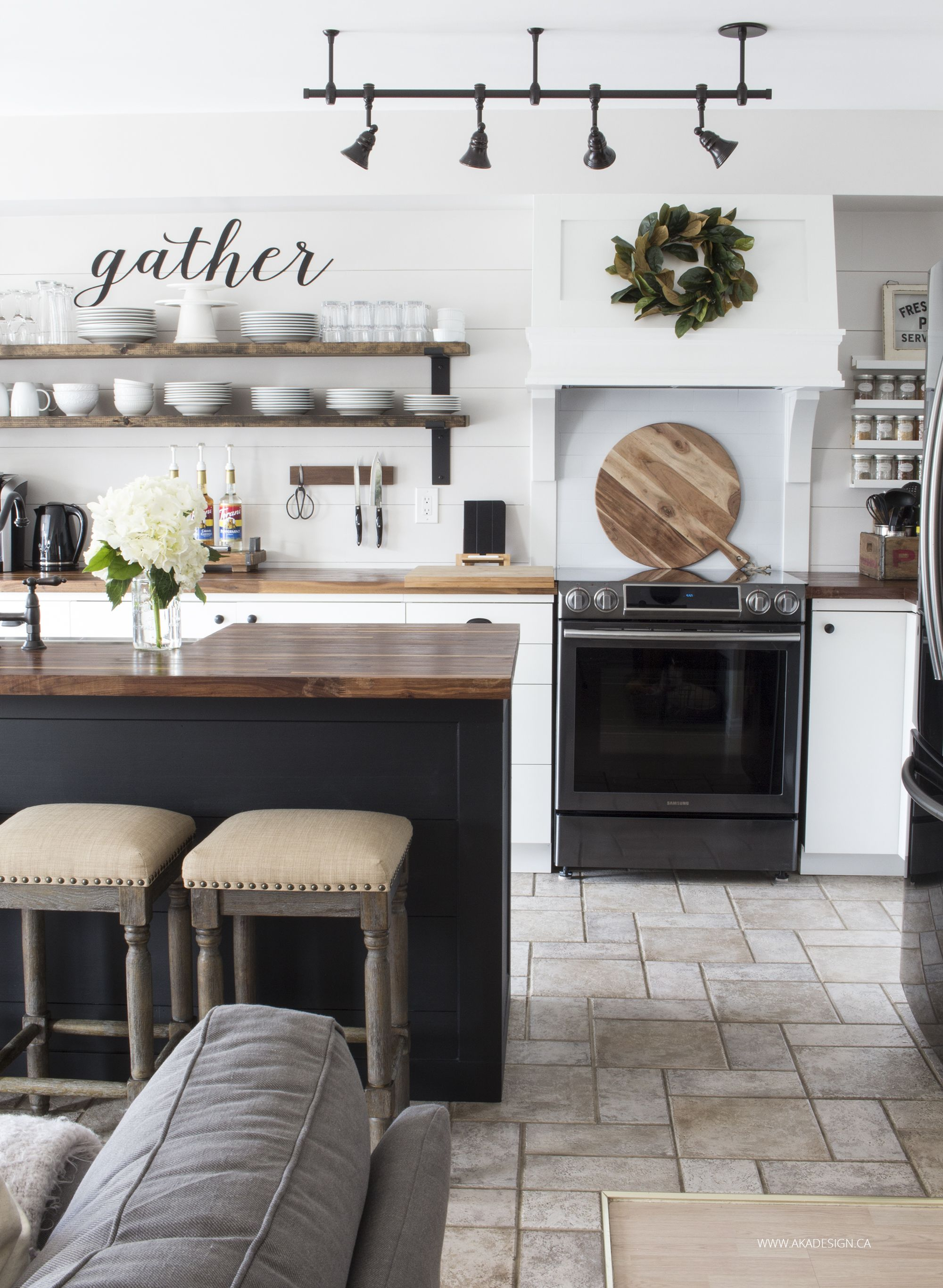 Best Our Modern Farmhouse Kitchen Makeover Modern Farmhouse 640 x 480