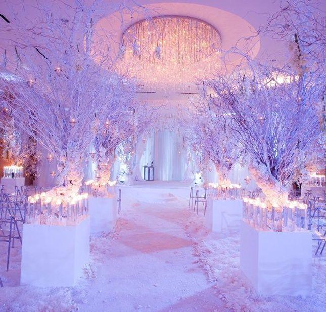 Dreamy winter wonderland wedding wedding decor pinterest dreamy winter wonderland wedding junglespirit Images