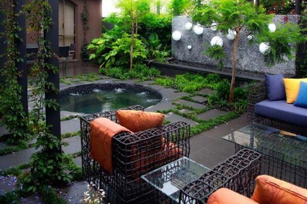 Contemporary Garden Design By Eckersley Garden Architecture