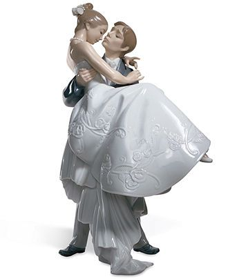 LOVE! My original cake topper Lladro Collectible Figurine, The Happiest Day - Collectible Figurines - Home Decor - Macy's