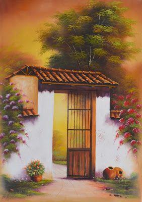 Cuadros Modernos Pinturas Paisajes Fáciles De Pintar Al óleo