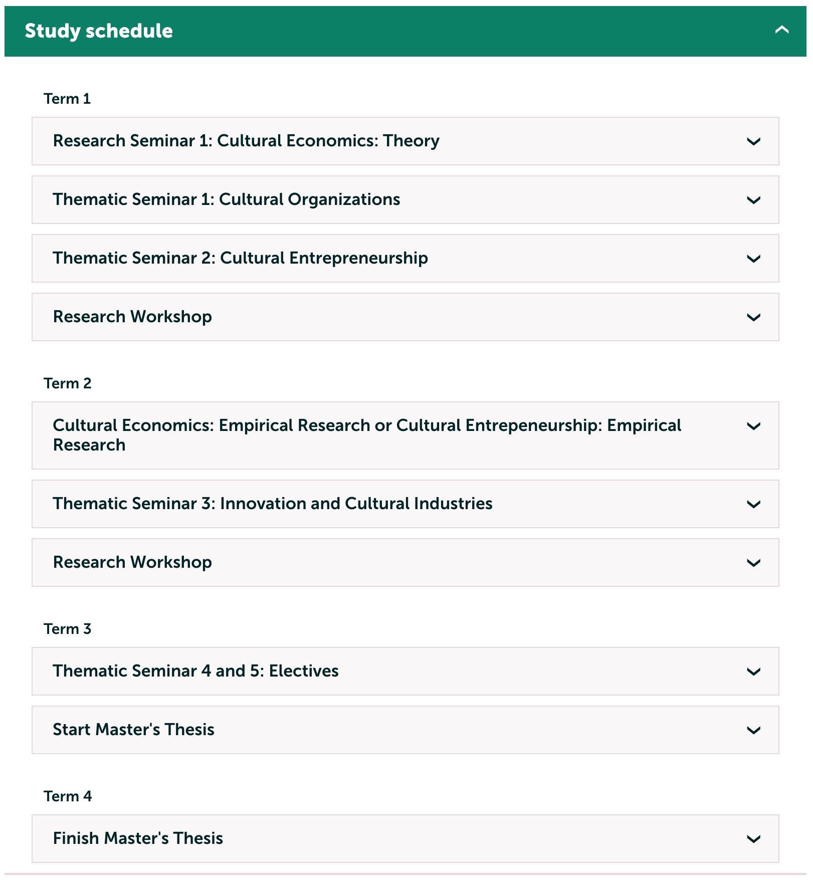 Cultural Economics Education  15