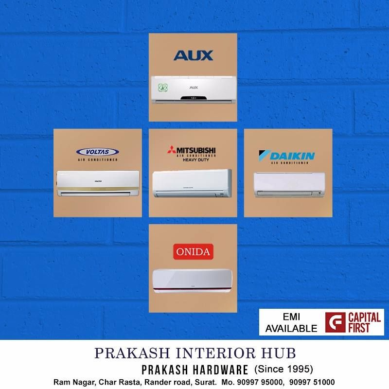 Comfort You Can Feel Quality You Can See The Best Brand Of Air Conditioners Are Available At Our Store Prakash Interior Hub Interior Best Brand Feelings