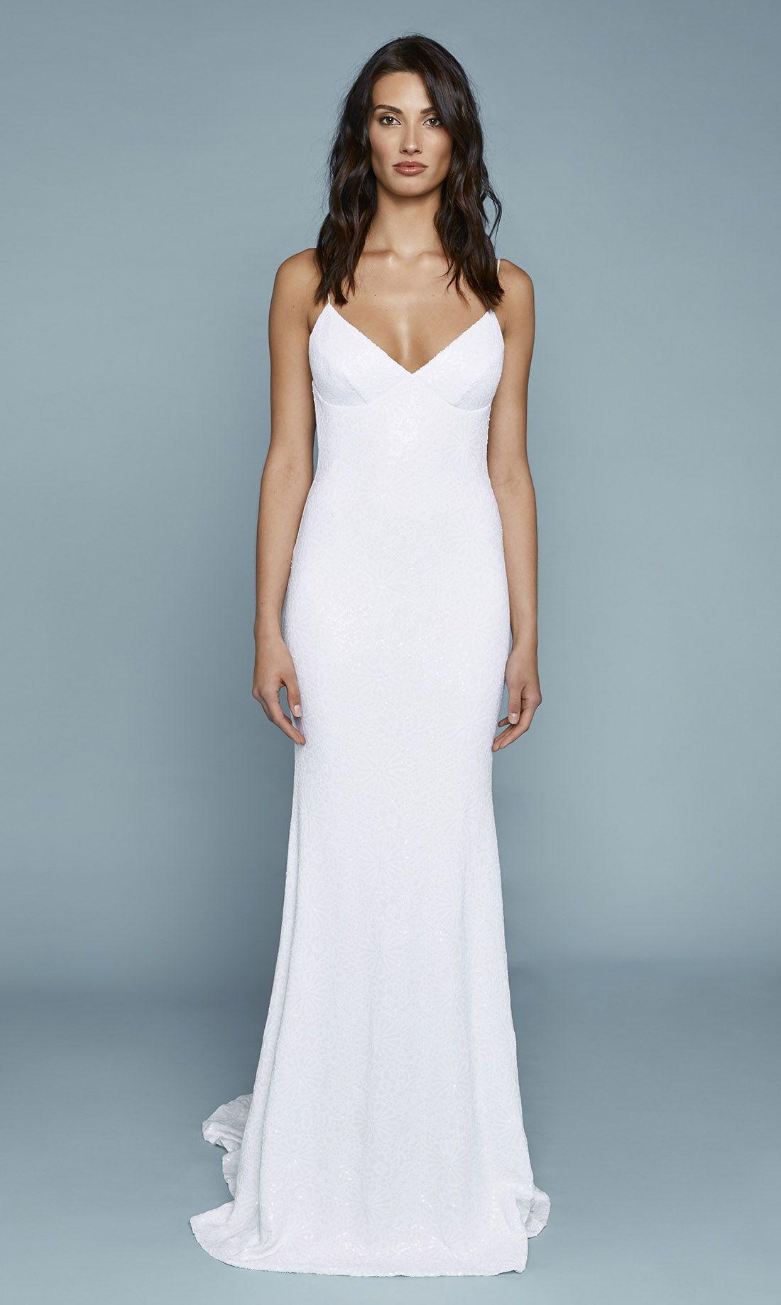 Sequin Lanai Gown | Wedding, Weddings and Wedding dress