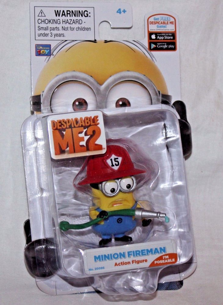 Despicable Me Stuart with Guitar Action Figure Thinkway