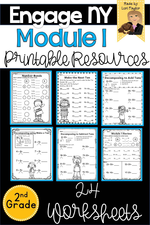 Engage Ny Grade 2 Module 1 Supplemental Printables Eureka Math