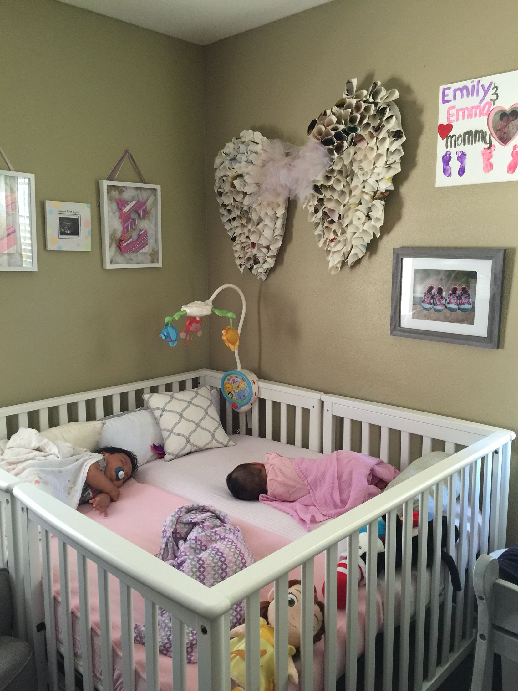 Crib For Twins Or Multiples Pinteres