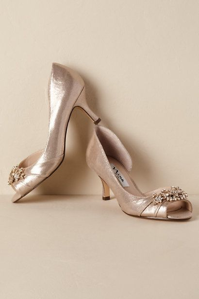 6e694563e Gold Cyrene Heels