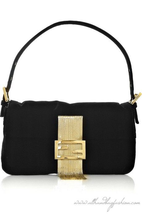 fede72abcaa8 Fendi Baguette fringed velvet shoulder bag