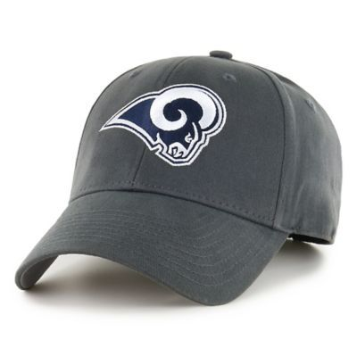 huge discount 06e85 0bbe6 NFL Los Angeles Rams Basic Cap in Grey