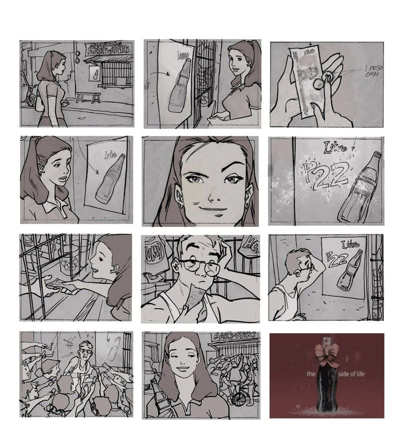 Commercials Storyboard  Google   StoryboardComic