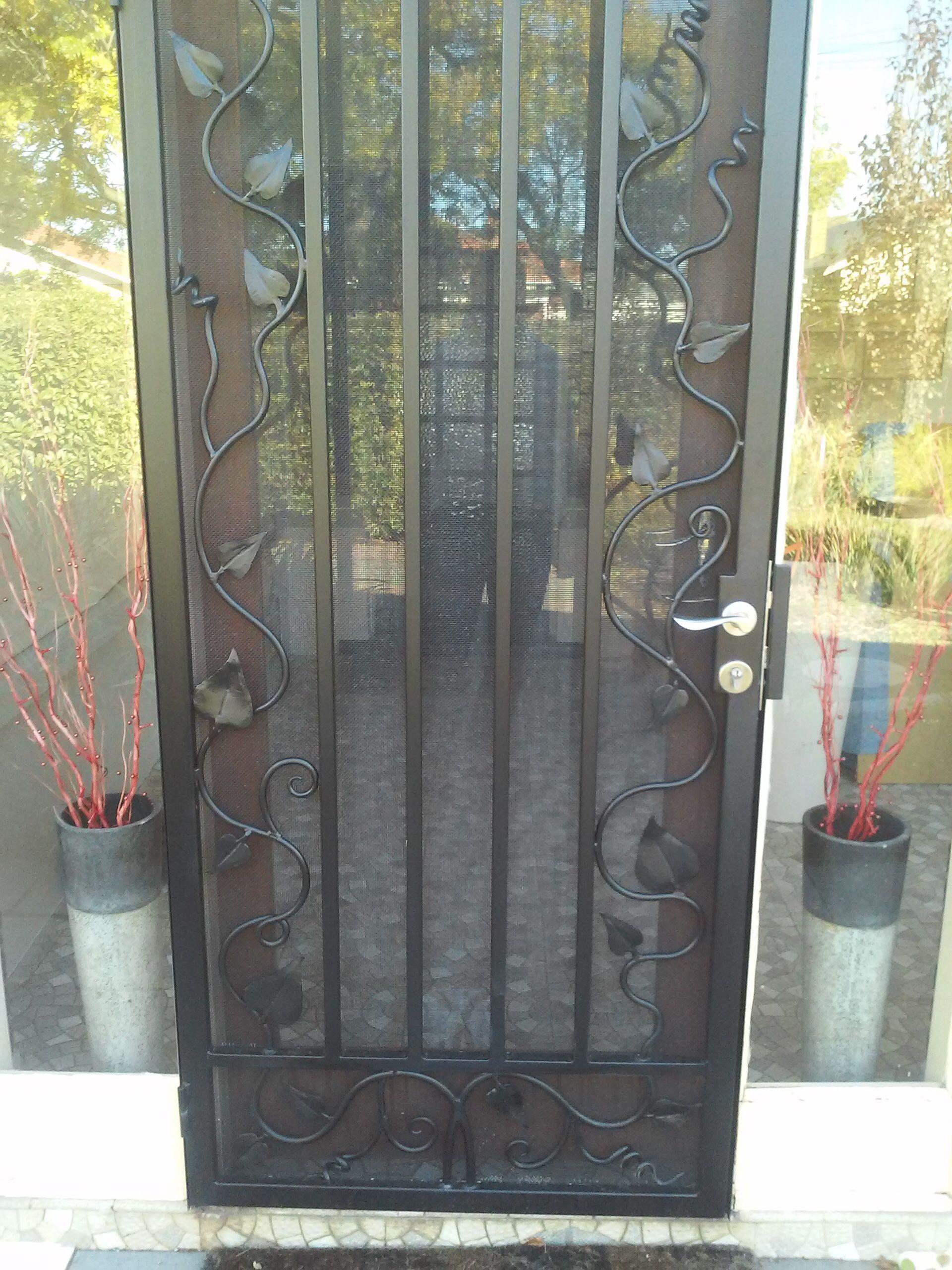 Wrought Iron Screen Door Wrought Iron Security Doors Iron Security Doors Steel Security Doors