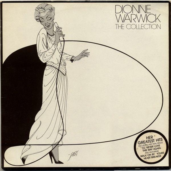 Dionne Warwick The Collection Vinyl Lp At Discogs Purely Graphic Vinyl Dionne Warwick Collection Album