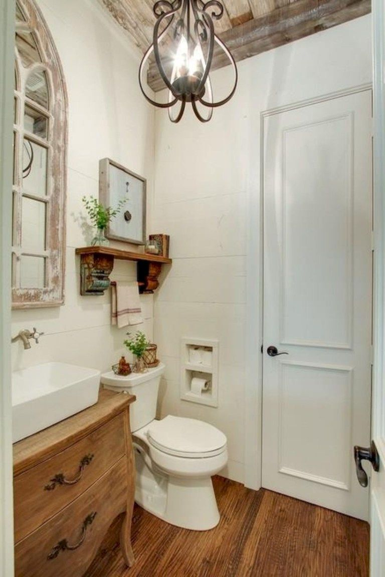 Incredible half bathroom decor ideas (13   Half bathroom decor