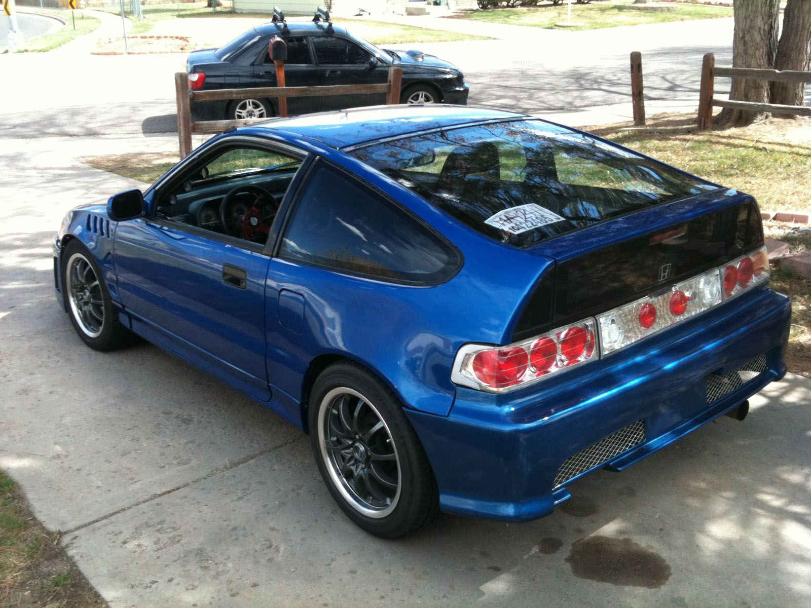 89 honda crx hatchback that is one of the sickest. Black Bedroom Furniture Sets. Home Design Ideas