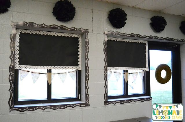 Farmhouse Classroom Reveal Classroom Ceiling Chalkboard