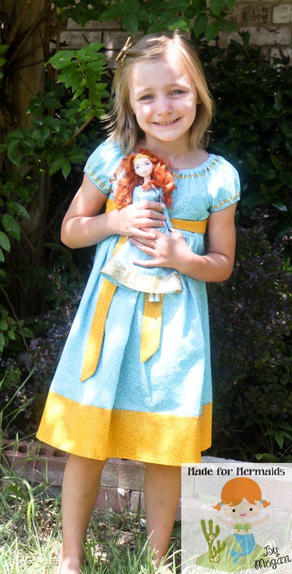 Brave Merida Dress Disney Princess by madeformermaids on Etsy ...