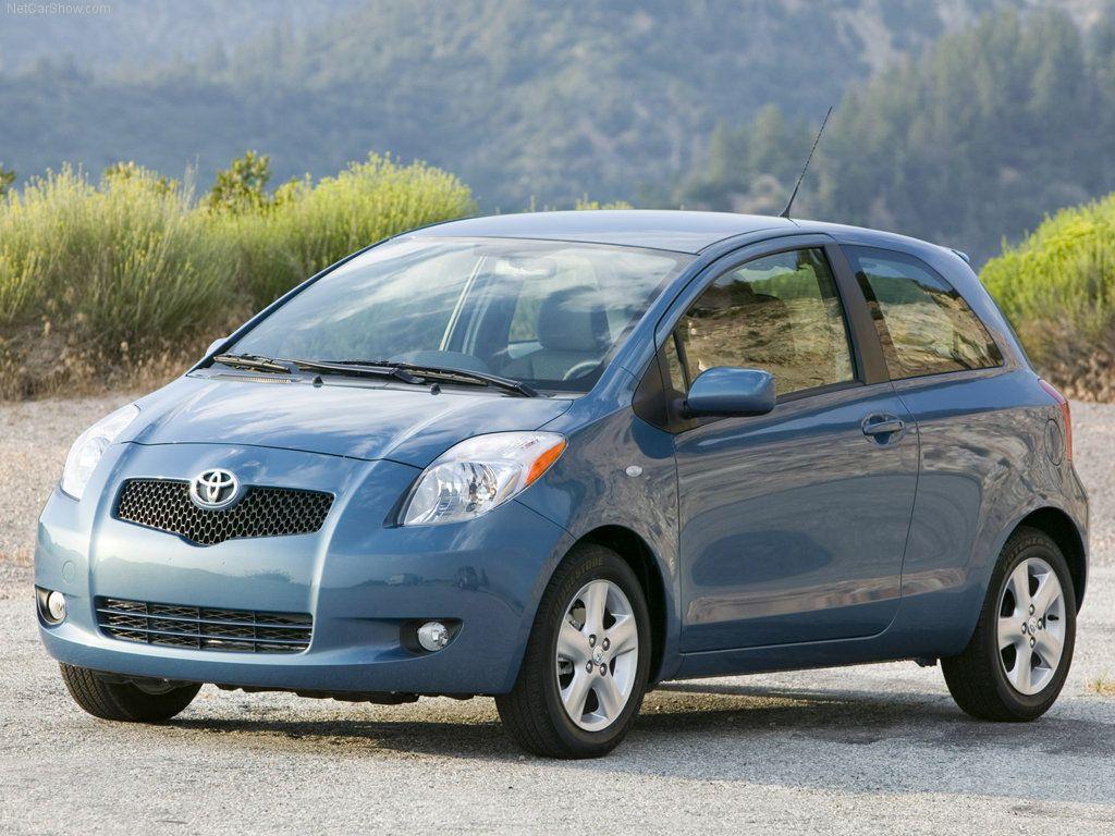 Hyundai Accent 2012mpg >> Toyota Yaris 2007 4 Wheels Toyota Car Vehicles