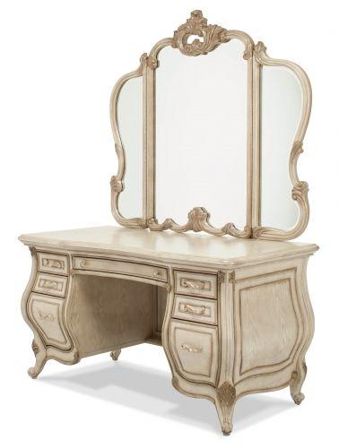 Glass Top Vanity  Mirror in 2018 Bedrooms ideas Pinterest
