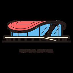 Kazan Arena Football Stadium Logo Arena Football Football Stadiums Kazan