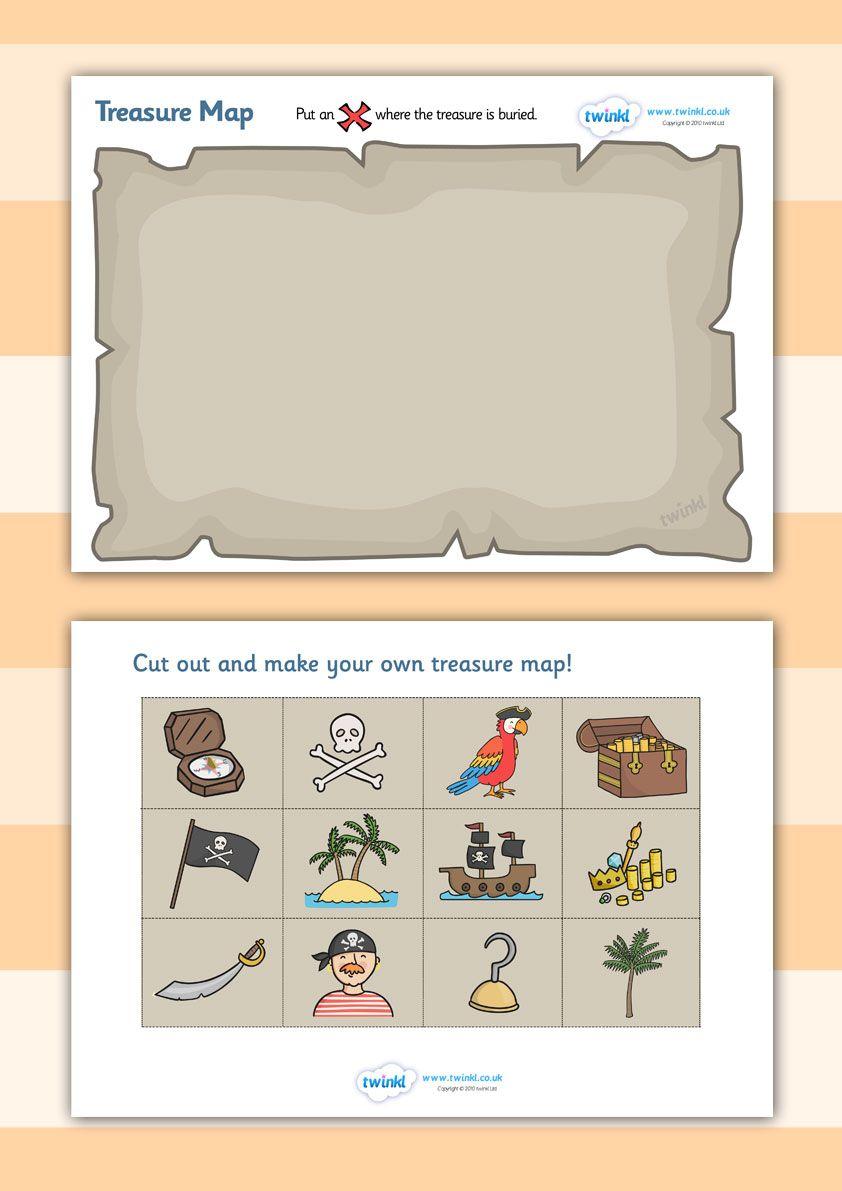 twinkl resources treasure map design activity classroom printables for pre school. Black Bedroom Furniture Sets. Home Design Ideas