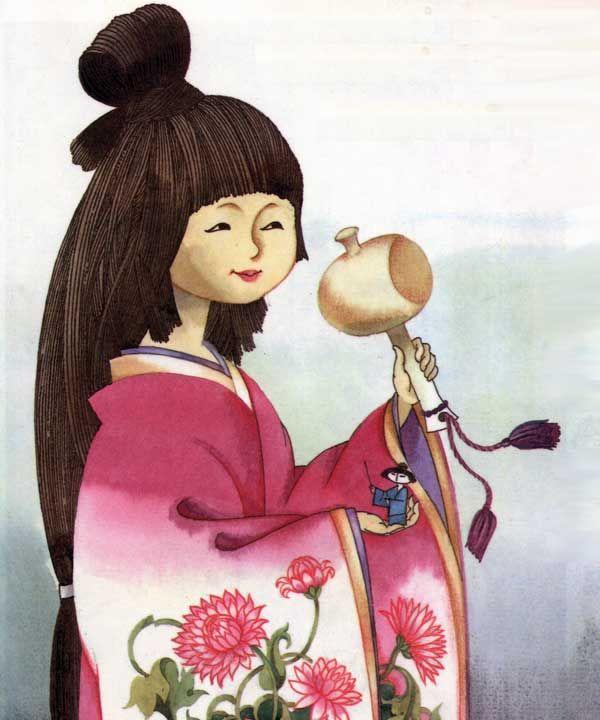 Картинки японская сказка