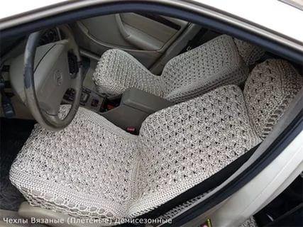 как связать чехлы для автомобиля крючком схемы: 25 тыс ...