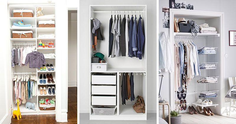 Wardrobe Storage Ideas 9 Storage Ideas For Small Closets Small