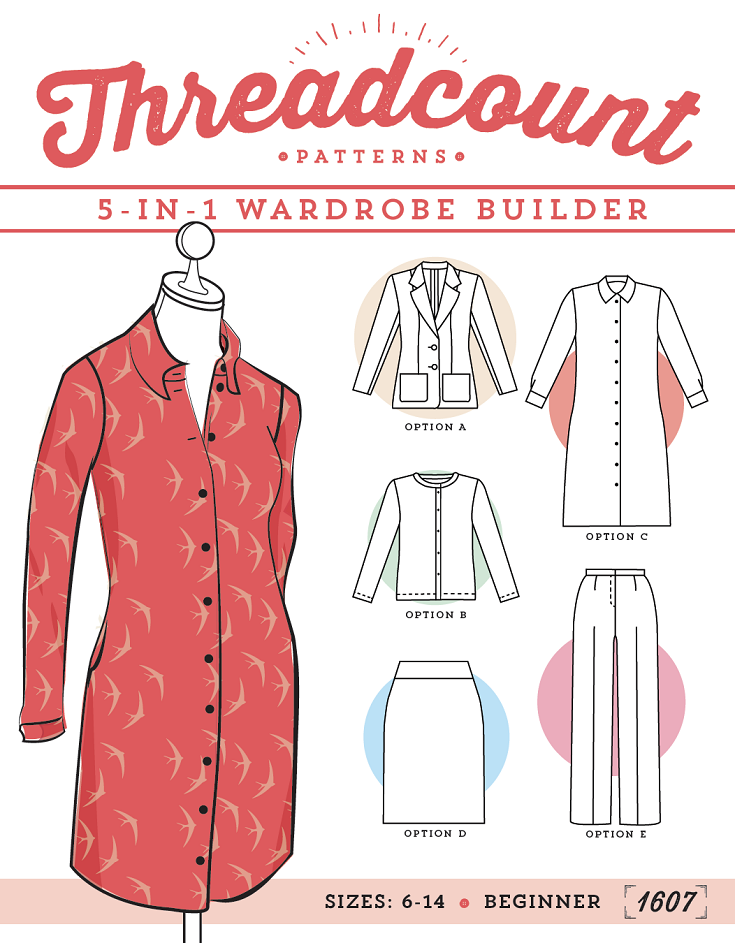free pattern - threadcount wardroble builder | Threadcount Sewing ...
