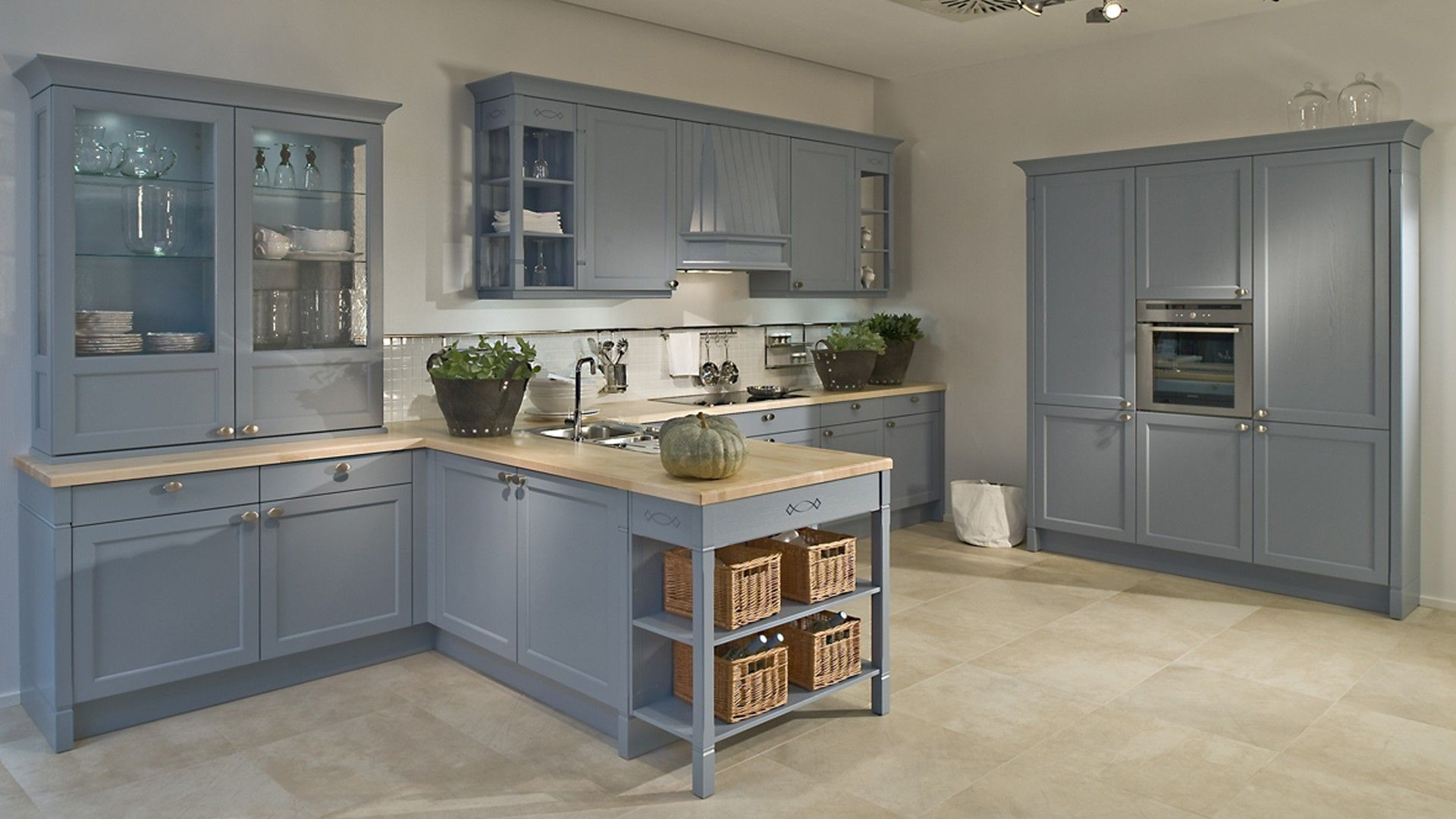 Moderní kuchyněRustikální kuchyně BRISTOL, JASAN