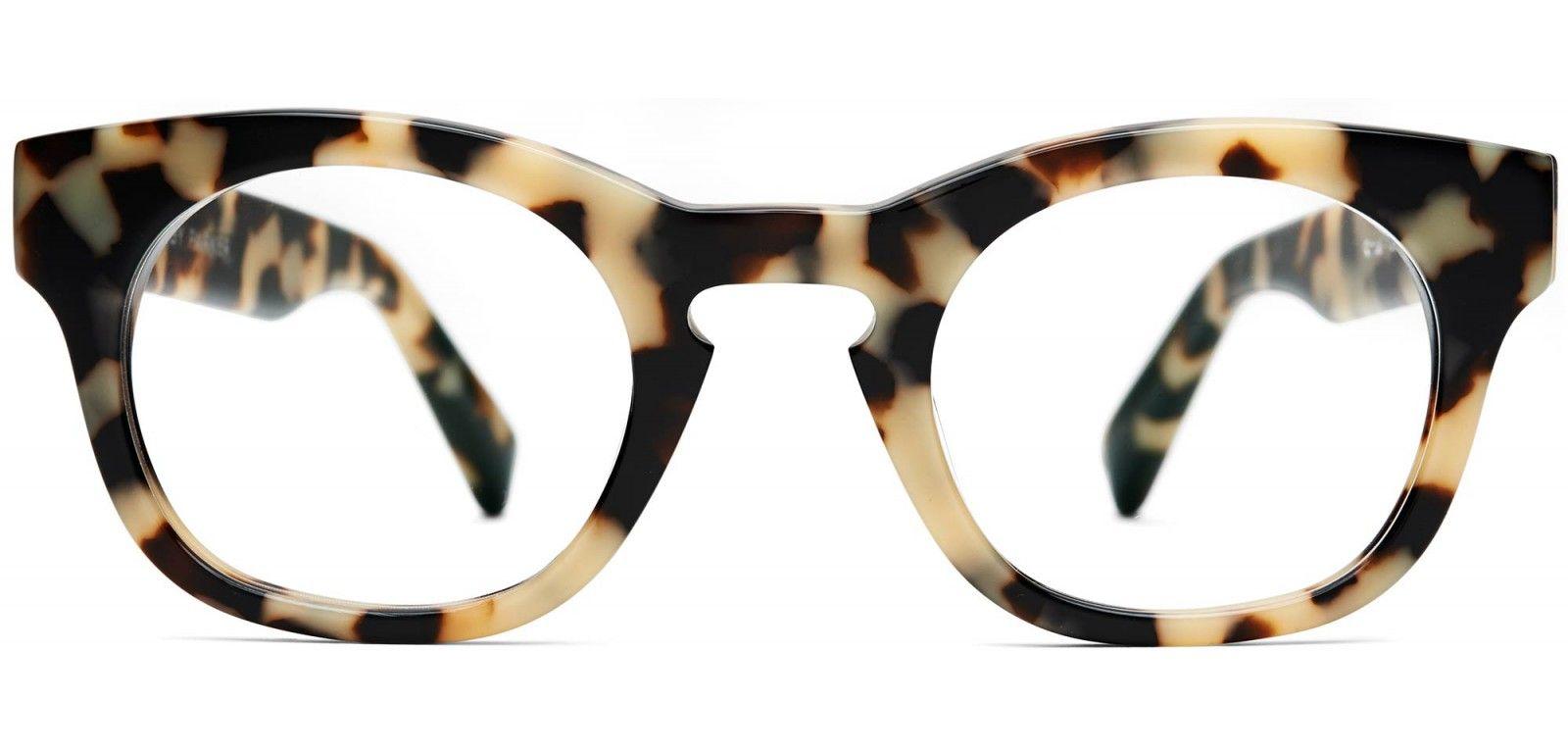 Kimball eyeglasses in marzipan tortoise for women