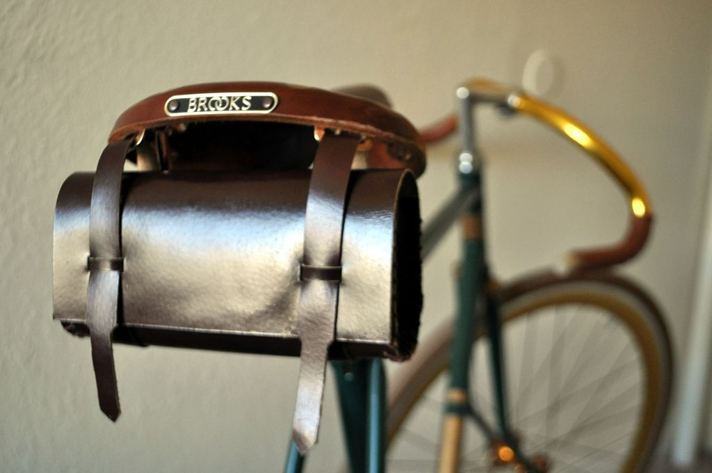DIY: Leather Tool Bag for Bicycle