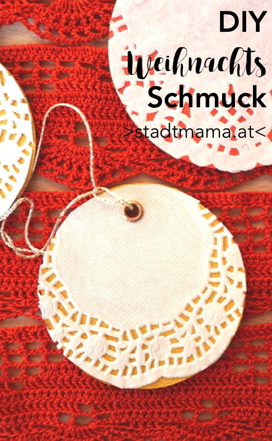 Weihnachtsschmuck, Christbaumschmuck: DIY Ideen für Kinder ab drei Jahren. Basteln mit Kindern. Baumschmuck. #christbaumschmuckbastelnkinder