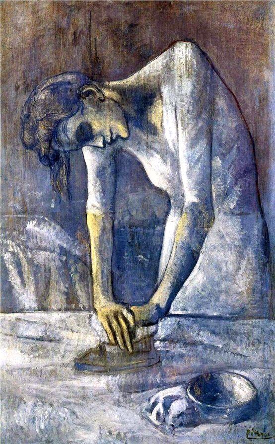 The Ironer - Pablo Picasso