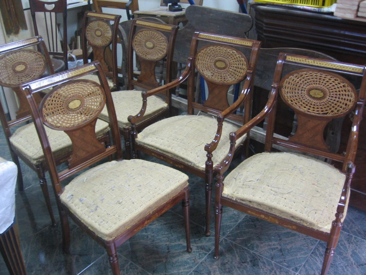 Sillas Sheraton Sillas Restauraci N De Muebles Pinterest  # Muebles Torres Y Gutierrez