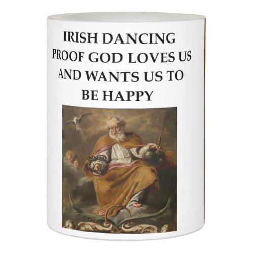 irish dancing flameless candle