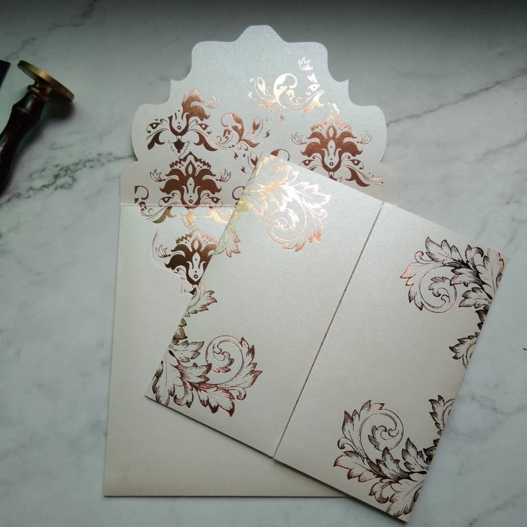 Sample available myanmar luxurious elegant peach and rose gold