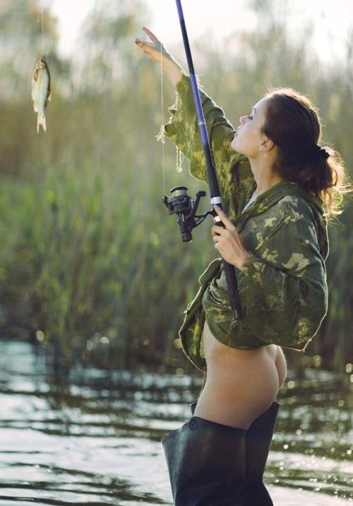 Bottomless fishing fishing pinterest posts tumblr for Fish for girls
