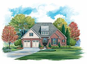 Craftsman Style House Plan 80483 with 3 Bed, 2 Bath, 2 Car Garage #craftsmanstylehomes