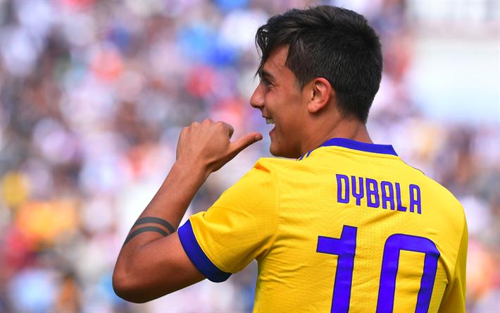 the best attitude a464d a368b Scarica sfondi La Juve, 4k, Paulo Dybala, il calcio, la ...