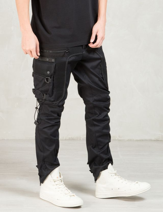MARCELO BURLON Black Escalante Pants