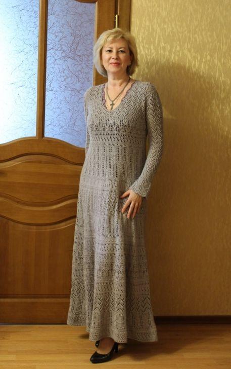 вязание верена платья