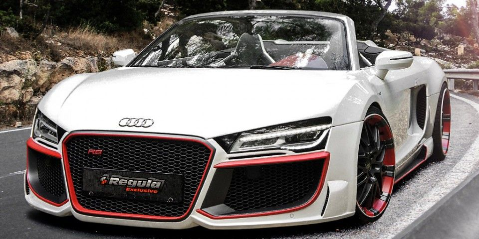 Updated Audi R8 Spyder By Regula Tuning With Images Audi R8