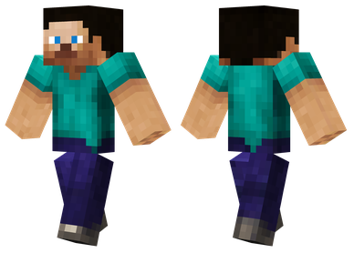 Steve Hd Skin A Shaded Version Of The Default Minecraft Skin Minecraft Skins Minecraft Skins Zombie Minecraft Skins Aesthetic