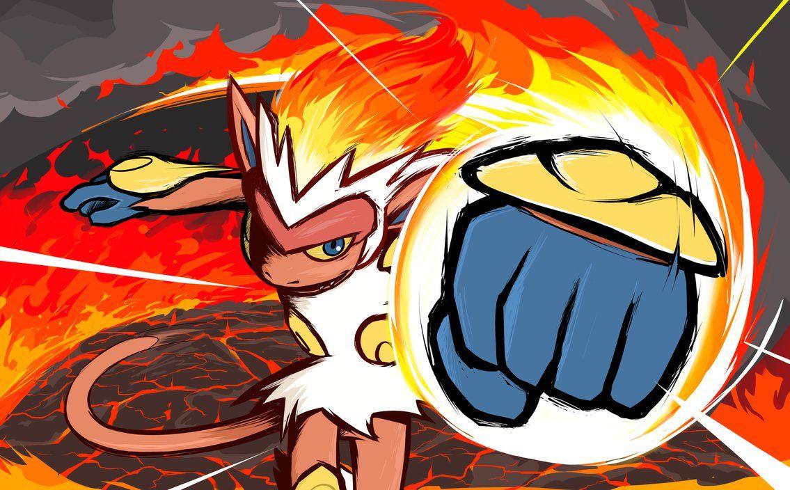 Infernape Fire Punch By Ishmam Cool Pokemon Wallpapers Pokemon Art Pokemon Drawings