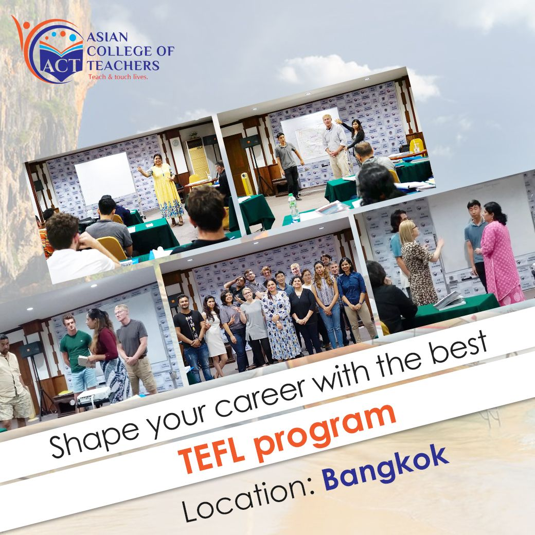 Join A Tefl Certification Course And Get Accredited With Proper