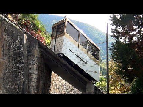 Standseilbahn (cable car) Territet - Glion, Genfer See - Lac Leman