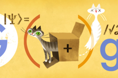 Google Doodle honors Erwin Schrödinger and his paradoxical
