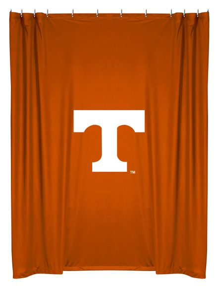 Tennessee Volunteers Shower Curtain Fabric Shower Curtains